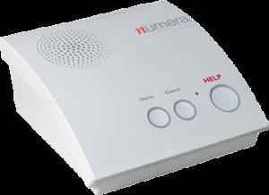 Numera home base station. Medical Emergency alert system
