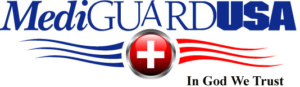 MediguardUSA horizontal logo | Personal Medical Emergency alert systems. Omaha, NE